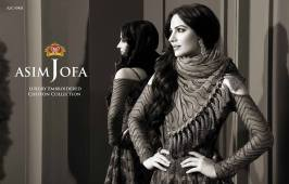 Asim Jofa Luxury Embroidered Chiffon Dresses 2016-17 14
