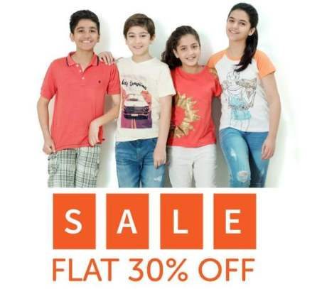 Hopscotch Kids Summer End 30 % Sale 2016-17