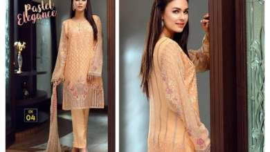 Iznik Luxury Chiffon Eid Ul Azha Collection 2016-17 5