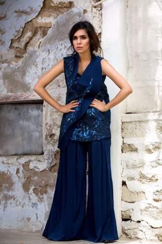 Nida Azwer Festive Season Collection Fancy Dresses 2016-17 5