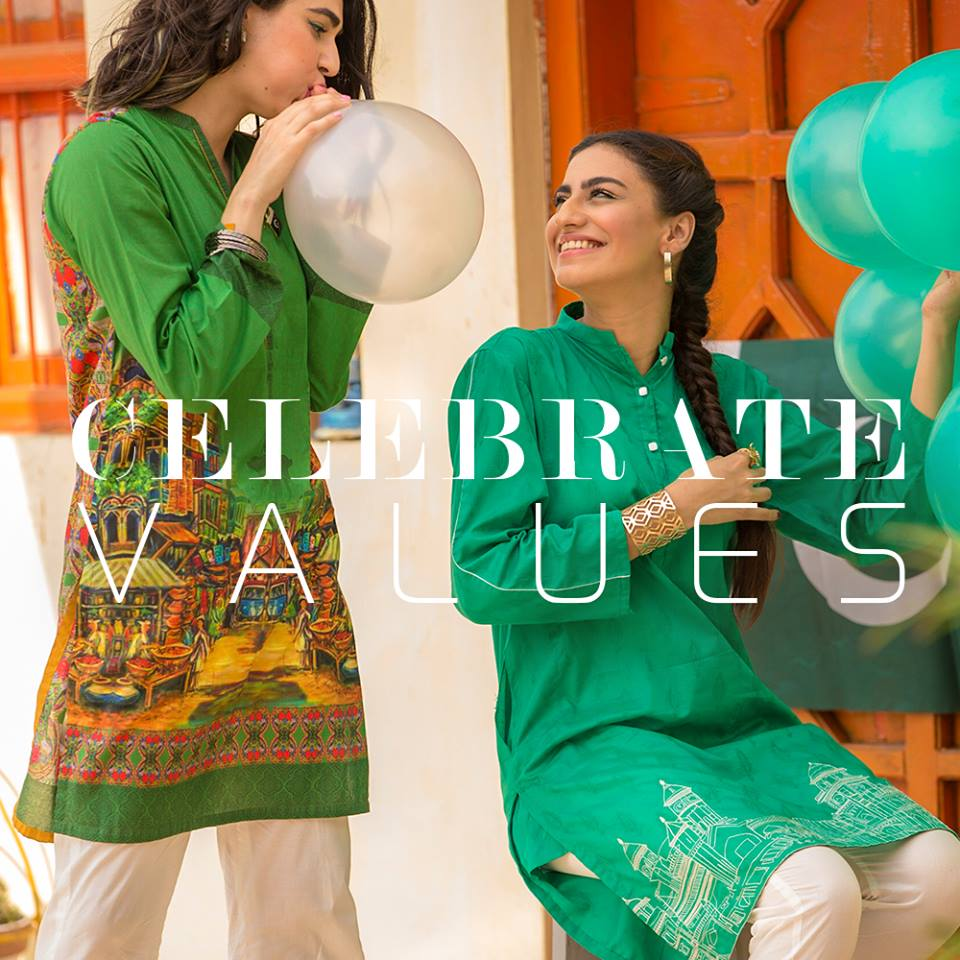 Nishat Linen Liberation Collection Independence Day Dresses