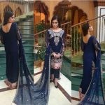 Noor Premium Embroidered Chiffon Dresses 2016-17