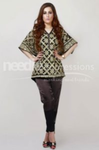 Premium Embroidered Chiffon Collection Needle Impressions 2016