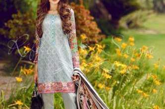 Sana Salman Semi Formal Eid Collection 2016-17 3