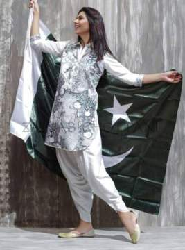 Zainab Chottani Azadi Collection Independence Day Dresses