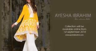 Ayesha Ibrahim Eid Ul Azha Dresses Festive Season Collection 2016 4