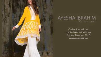 Ayesha Ibrahim Eid Ul Azha Dresses Festive Season Collection 2016 4