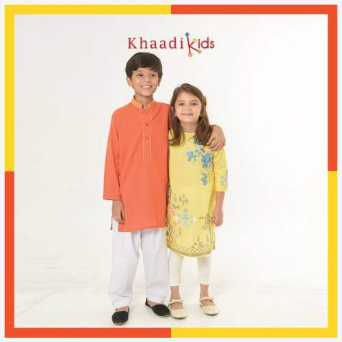 283fe53dc1b7 Eid Ul Azha Kids Wear Collection By Khaadi 2016-17