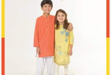 Eid Ul Azha Kids Wear Collection By Khaadi 2016-17