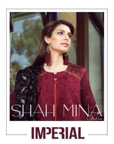 Shah Mina Winter Luxury Dresses For Women 2017
