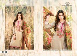 Winter Velvet Dresses Shalwar Kameez By Eshaeman 2017 8