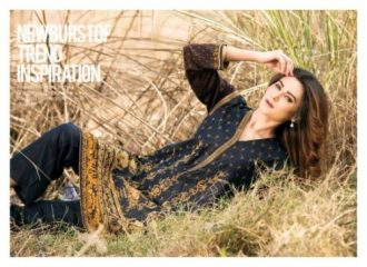 Winter Velvet Dresses Shalwar Kameez By Eshaeman 2017 9