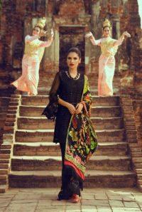 Teena Durrani Basics Luxury Traditional Collection 2017 3