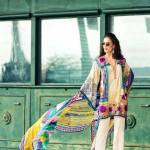 Faraz Manan Luxury Spring-Summer Lawn Dresses 2017 2