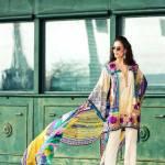 Faraz Manan Luxury Spring-Summer Lawn Dresses 2017 2