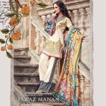 Faraz Manan Luxury Spring-Summer Lawn Dresses 2017 4
