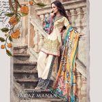 Faraz Manan Luxury Spring-Summer Lawn Dresses 2017 4