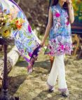 Asifa and Nabeel Summer Modern Formal Lawn Dresses 2017