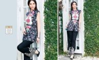 Belle Summer 2 PC Lawn Dresses By Charizma 2017 7