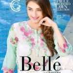 Belle Summer 2 PC Lawn Dresses By Charizma 2017