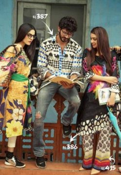 Casual Summer Colorful Collection Ideas By Gul Ahmed 2017 9