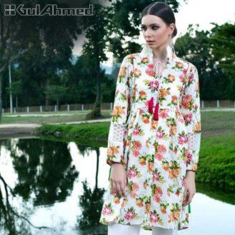 Gul Ahmed 2 Pcs Summer Lawn Dresses 2017