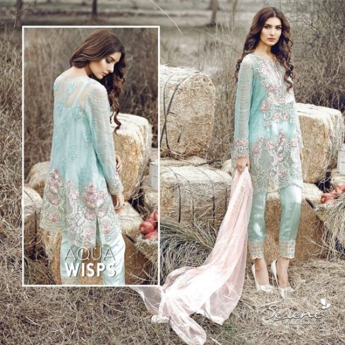 Serene Premium Embroidered Formal Lawn Dresses 2017