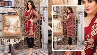 Veena Durrani Summer Tunics Collection 2017