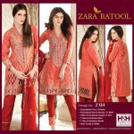 Zara Batool Luxury Embroidered Lawn Summer Dresses 2017 3