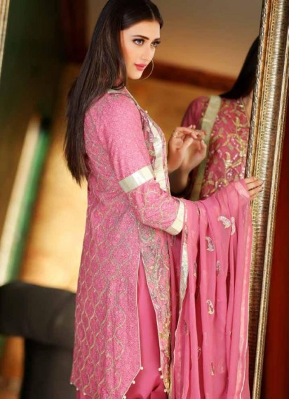 Zara Batool Luxury Embroidered Lawn Summer Dresses 2017 5