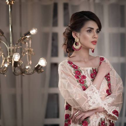 Agha Noor Luxury Summer Festive Collection 2017 10