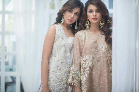 Agha Noor Luxury Summer Festive Collection 2017 3