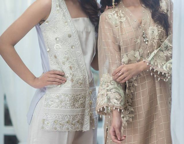 Agha Noor Luxury Summer Festive Collection 2017
