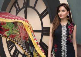 Crimson Eid Lawn Festive Season Dresses 2017 4