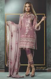 Eid Festive Wear Luxury Collection By AlKaram 2017 14