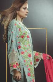 Eid Festive Wear Luxury Collection By AlKaram 2017 16