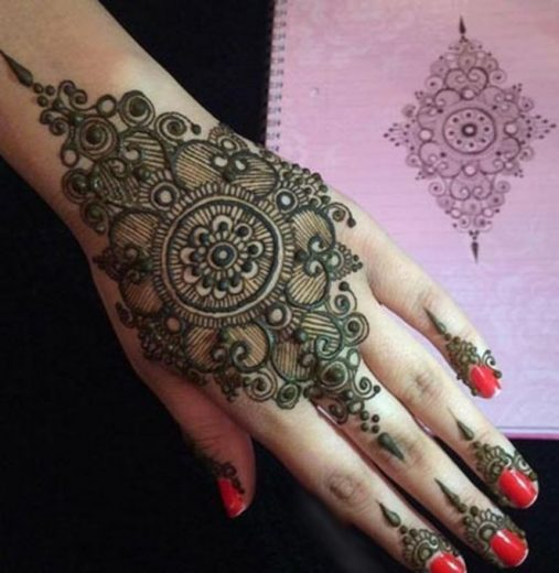 Eid Ul Fitr Mehndi Designs For This Summer Season 2017 11