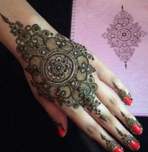 Eid Ul Fitr Mehndi Designs For This Summer Season 2017 11