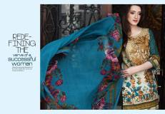 Floss Embroidered Luxury Lawn Shalwar Kameez Vol-2 2017 2