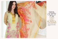 Floss Embroidered Luxury Lawn Shalwar Kameez Vol-2 2017