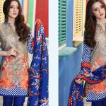 Floss Embroidered Luxury Lawn Shalwar Kameez Vol-2 2017 6