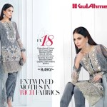 Gul Ahmed Luxury Eid Shalwar Kameez 2017
