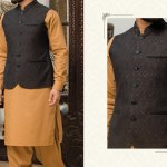Junaid Jamshed Eid Waistcoat Collection 2017 6