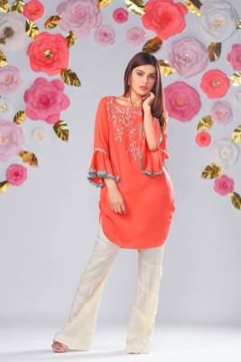 Modern Woman Eid Dresses By Sofia Naveed Lari 2017 6