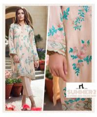 Nishat Linen Luxury Formal Wear Eid Collection 2017 2