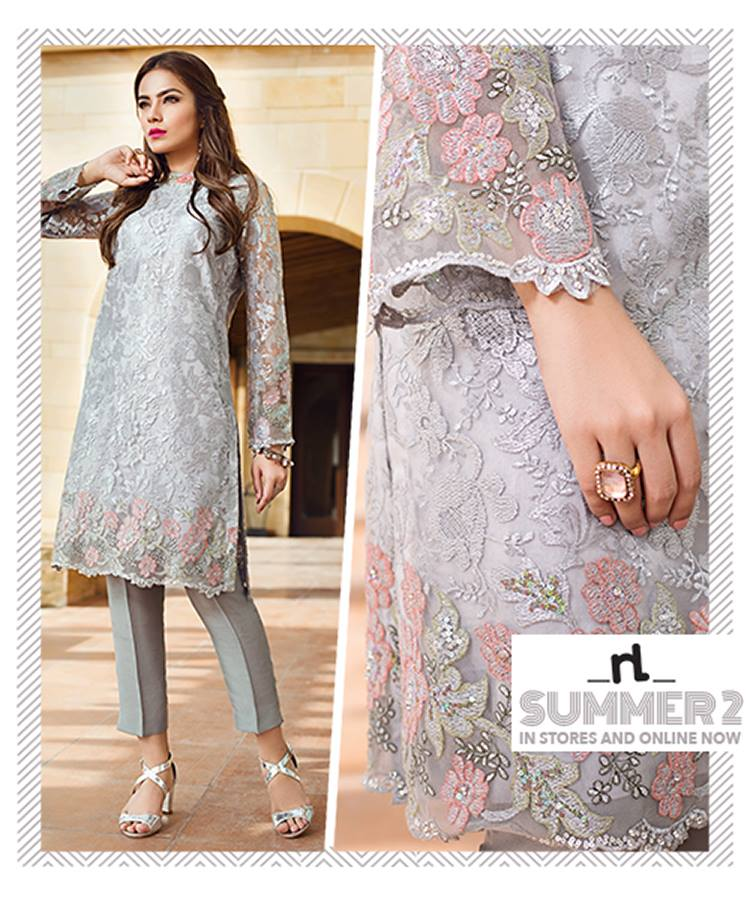 Nishat Linen Luxury Formal Wear Eid Collection 2017