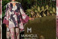 Summer Modern Luxury Lawn Mahgul Al Zohaib Collection 2017