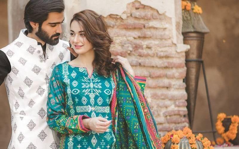 Bonanza Satrangi Colors of Eid Collection Embroidered Dresses 2017