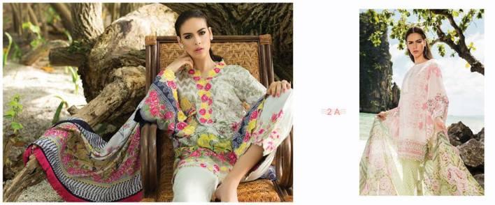 Maheen Taseer Luxury Lawn Eid Collection By Shariq 2017