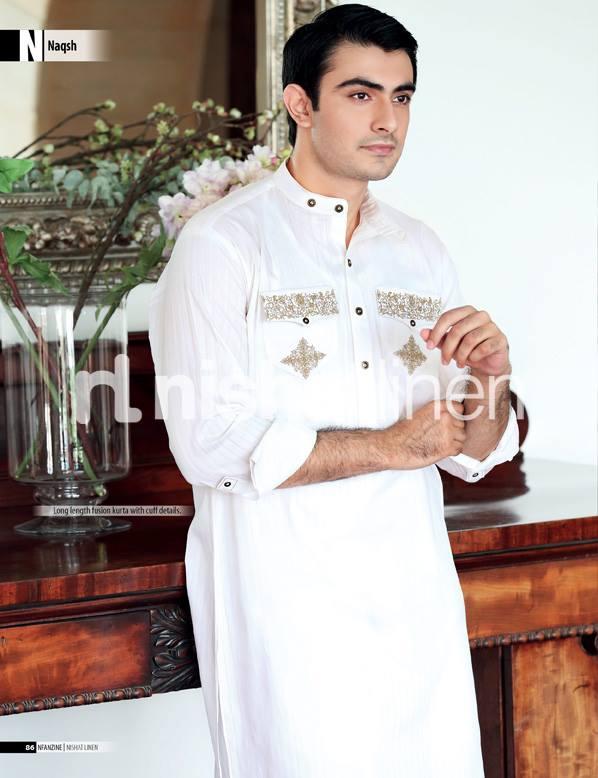 Men Eid Kurta Shalwar Eid Ul Fitr Collection By Naqsh 2017